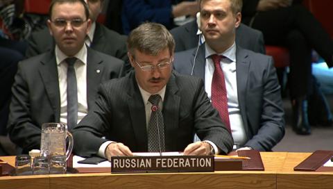 Делегация РФ в СБ ООН просит коллег с Украины отменить блокаду Донбасса