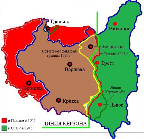 Короткая историческая память неблагодарных поляков.