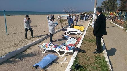 Тела 11 беженцев, утонувших …