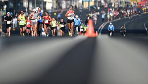 Американец побеждал в марафо…