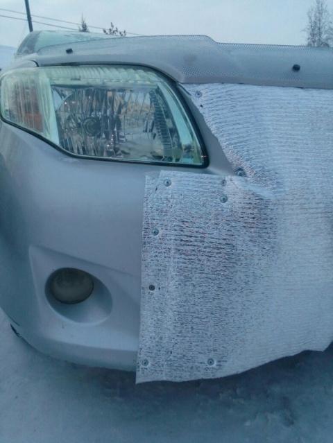 Суровая якутская зима