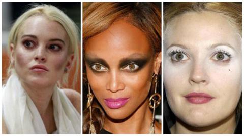 Провальный макияж голливудск…