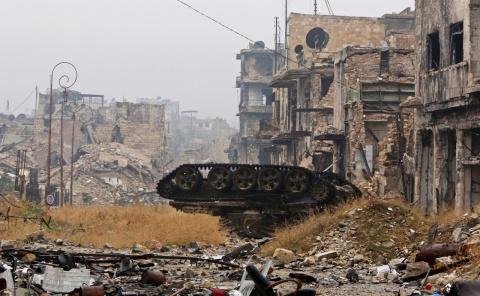 Война одна, фронты разные. К спору о «своих» Донбасса и «чужих» Сирии