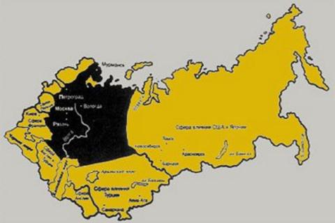 Прежде Брестского мира была конвенция о разделении союзниками России