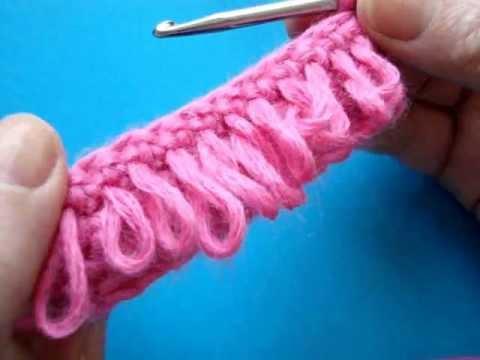Вязание крючком -  Вытянутая…