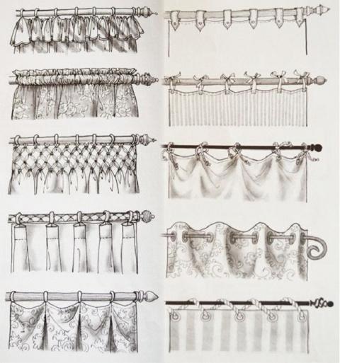 Как красиво повесить шторы н…