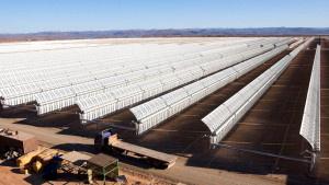 Гигантская солнечная ферма с…