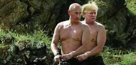 """Война"" Трампа против Путина…"