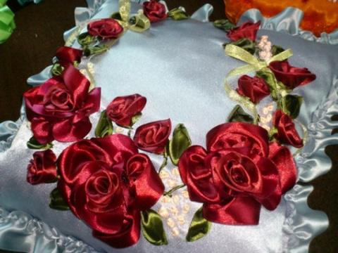 Создание роз