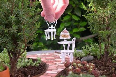 Сказочный мини сад своими руками