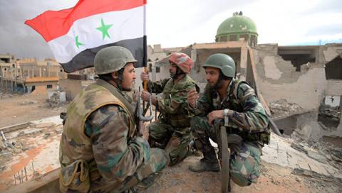Армия Сирии отбила у боевико…