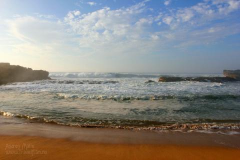 Атлантический океан осенью