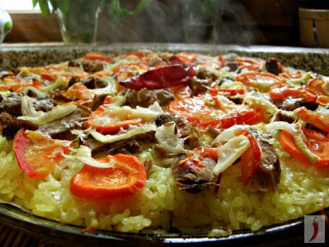 Оригинальное и быстрое блюдо пицца-плов! Из чего можно сделать чипсы?