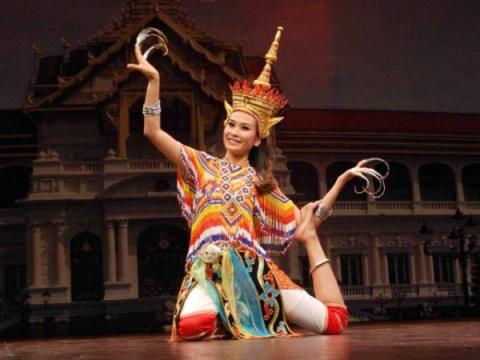 Народные танцы Таиланда (часть 1)