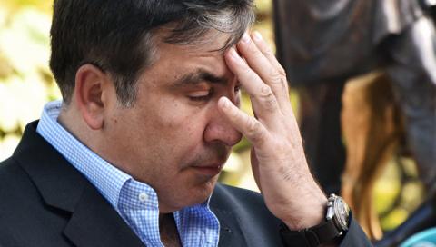 Одеситы устроили Саакашвили …
