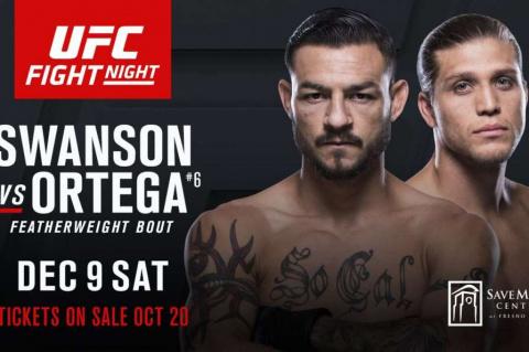 UFC FN 123. Взвешивание Свон…