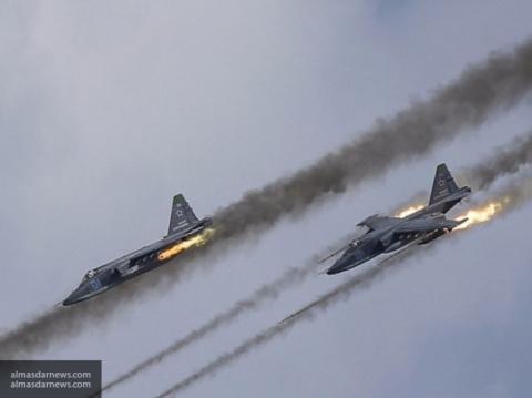 Эскадрилья ВКС РФ разнесла л…