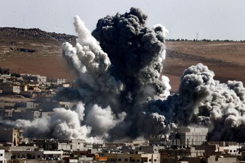 Коалиция США нанесла удар по госпиталю в иракском Мосуле