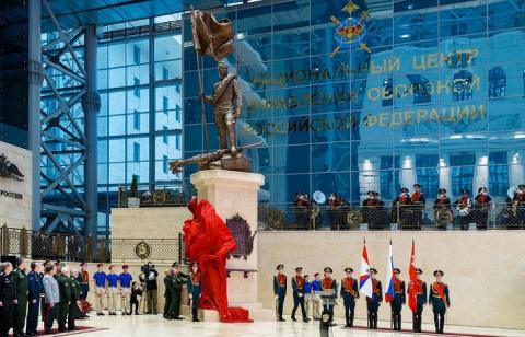 Шойгу открыл памятник солдату Великой Отечественной войны