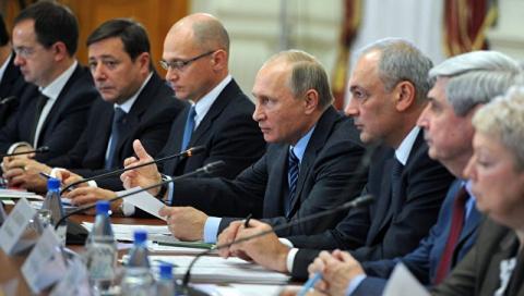 Путин одобрил идею принять закон о российской нации