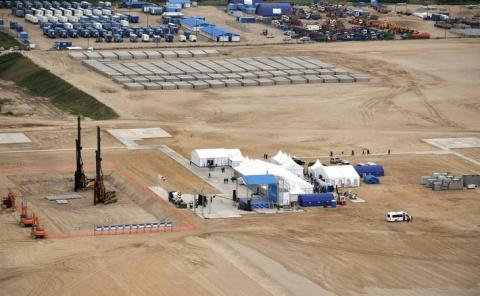 В Амурской области состоялась закладка первого фундамента газоперерабатывающего завода