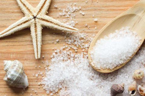Польза ванн с морской солью
