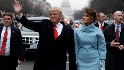 Инаугурация президента США Д…
