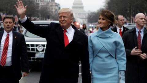 Инаугурация президента США Дональда Трампа прямая трансляция