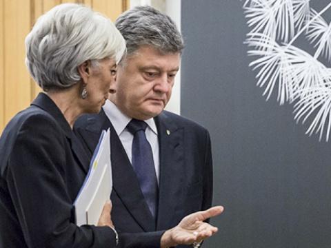 МВФ приказал Порошенко остеп…