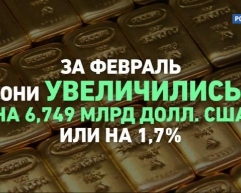 Российские ЗВР: почти $7 мил…