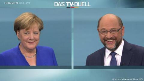 Меркель победила в решающих …