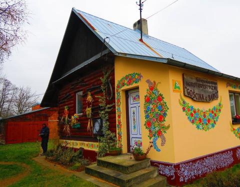 Расписная польская деревня Залипье
