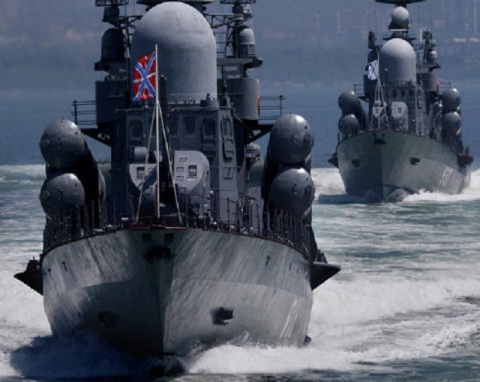 Российский корабль «отрезвил…