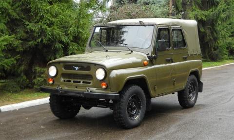 Лучшие внедорожники эпохи СССР - УАЗ-469