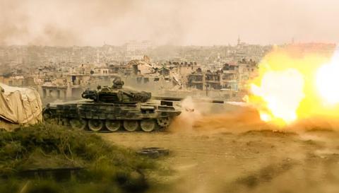 Сирийцы засняли результативн…