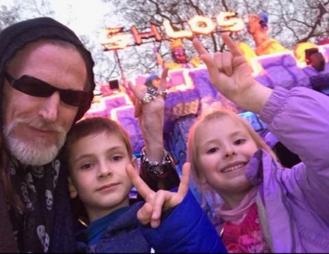 Никита Джигурда встретился с детьми