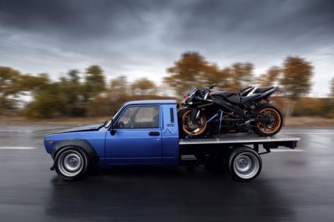 """ВИС-2345 """"Судорога"""" - пикап для перевозки мотоциклов"""