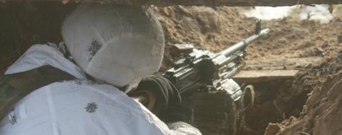 Снайпер ДНР «успокоил» пулем…