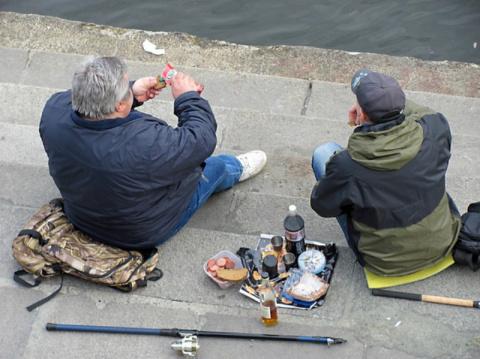 Хорошо на рыбалке