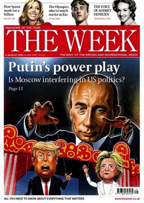 Британская пресса: Путин управляет Америкой