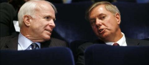 Трамп обвинил «таких как Маккейн» в конфликтах США с другими странами