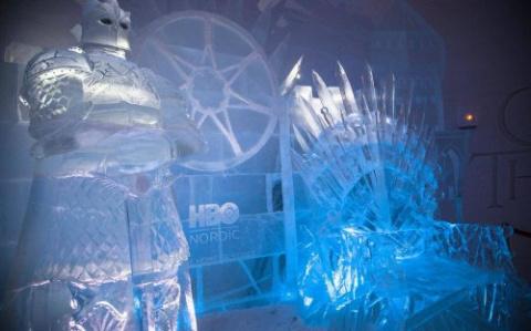 В Финляндии построили ледяно…