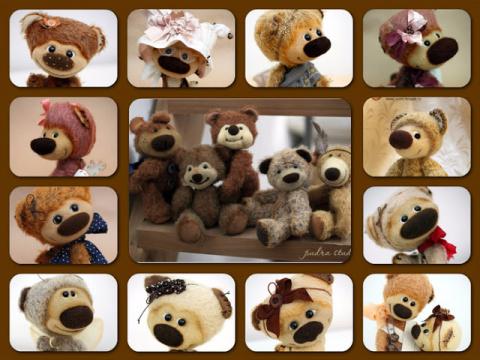 Чудесные Авторские медвежата