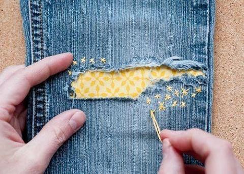 Дырка на джинсах - повод вдо…