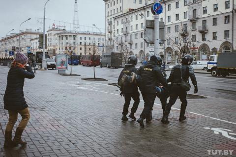 И по вчерашнему Минску, разб…