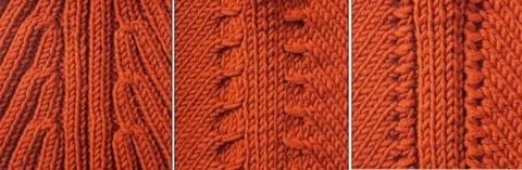 3 способа вязания реглана