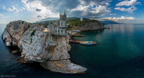 «Оккупированный» Крым покори…