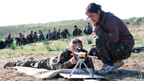 В Сирии только девушки: как …