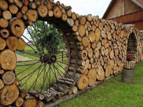 Крутейший дачный забор