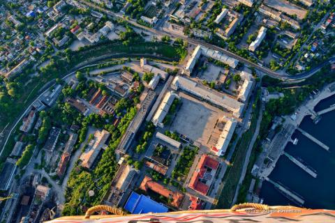 Город-герой Севастополь: вид сверху